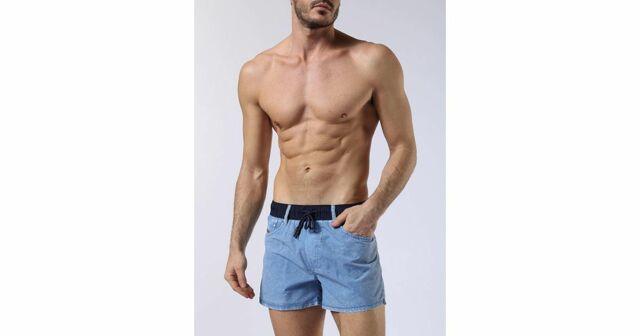 Pánské plavky 00SV9W-0JANW - Diesel - XL - jeans