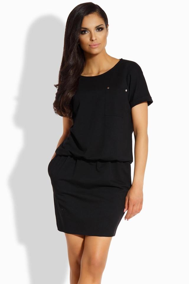 Dámské šaty Lemoniade L201 - S - černá