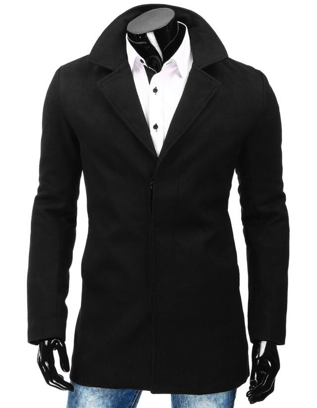 Pánský kabát RBM 4829 (cx0357) - NATURE fashion - 2XL - černá