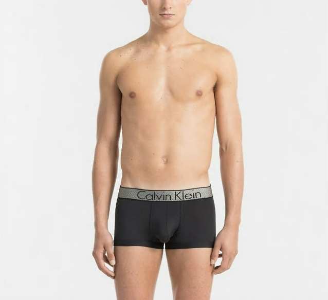Calvin Klein Boxerky Customized Stretch Černé LR - XL