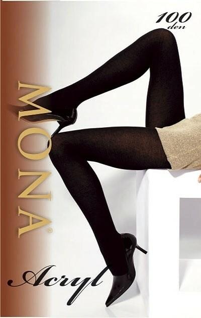 Punčochové kalhoty Mona Acryl 1-4 100 den - - frenceze/odstín zelené