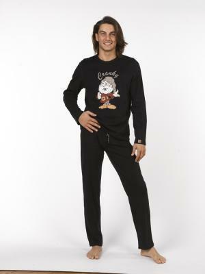 Pánské pyžamo 7551 - Vamp - L - černá