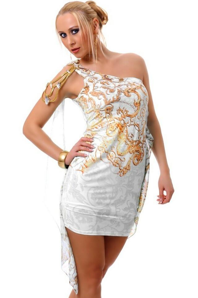 Šaty do společnosti krátké - L/XL
