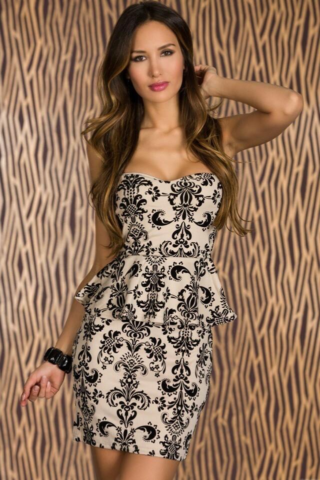 Krátké šaty do společnosti - L