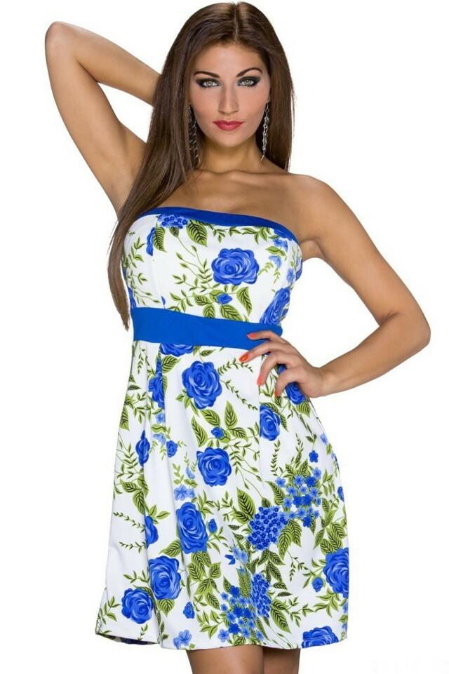 Letní šaty krátké - S/M