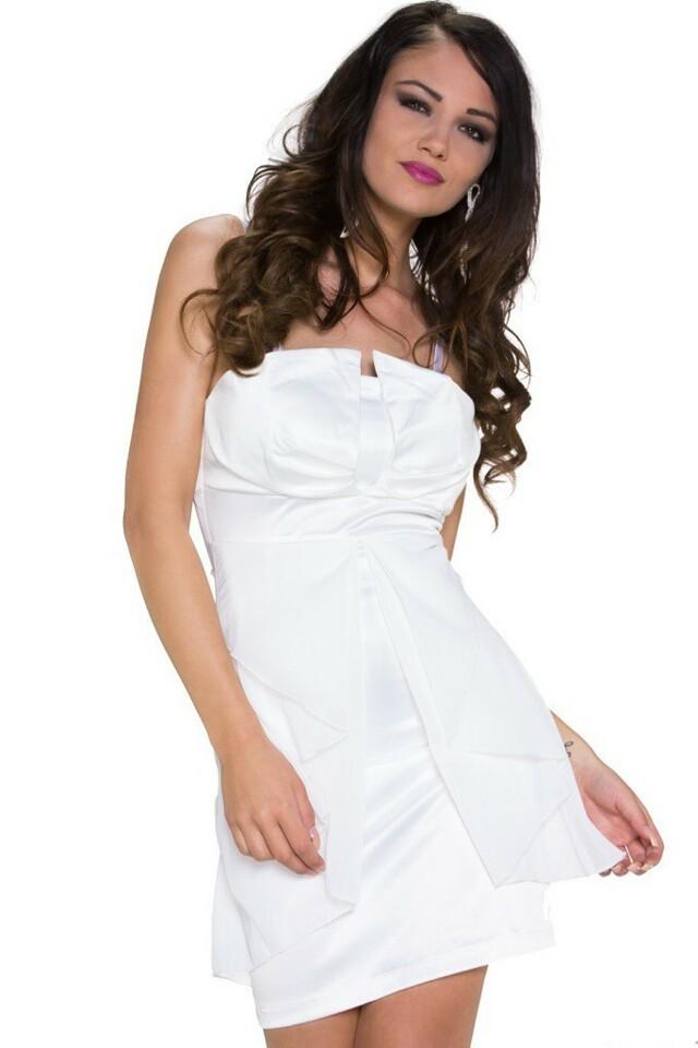 Společenské šaty krátké - L/XL