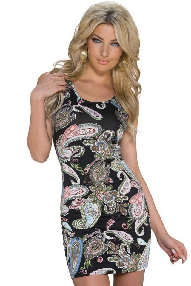 Krátké letní šaty - M/L