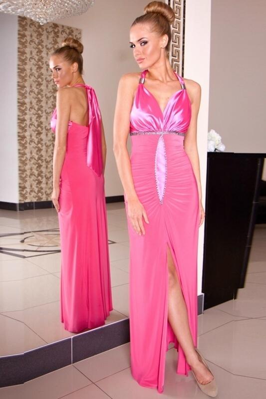 Společenské šaty dlouhé - L
