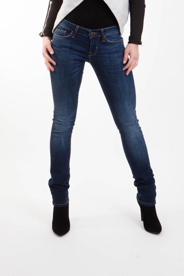 Jeans dámské nízký sed - 28/32