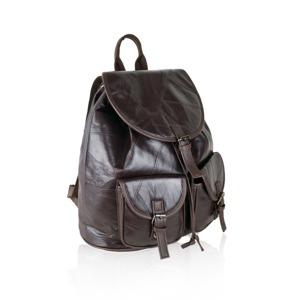 Batoh Benu Leather - hnědý