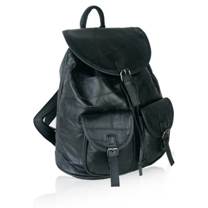 Batoh Benu Leather - černý