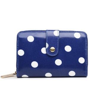 Peněženka Polka Dot - modrá