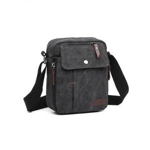 Pánská kabelka Guliene - černá černá