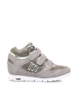 f65defb8604 Šedé dámské kožené boty – ON-LINE KATALOG