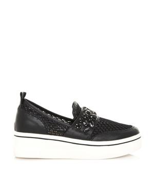 Koupit Černé nazouvací boty na platformě Maria Mare