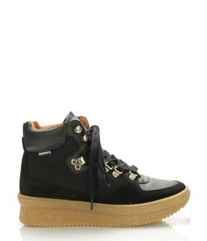 34a0e2f8438 Černé kožené boty Roobins – ON-LINE KATALOG