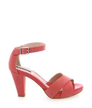 Koupit Červené sandály na širším podpatku MTNG