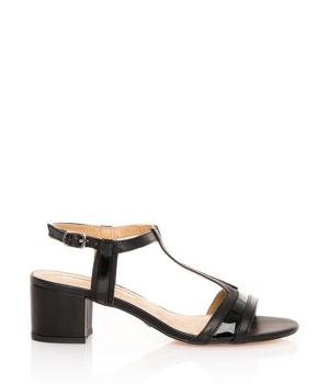 3c5fa65305 Černé sandály na širokém podpatku MARIA MARE