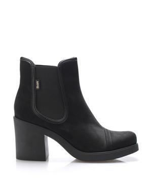 Koupit Černé boty na podpatku s elastickou částí Break&Walk