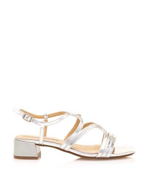 3b8920ed6eb4 Stříbrné sandály se širokým podpatkem Maria Mare – ON-LINE KATALOG