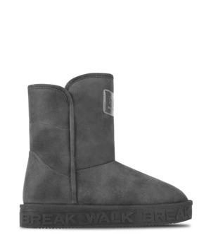 Break & Walk Černé válenky s logem na podrážce Break&Walk