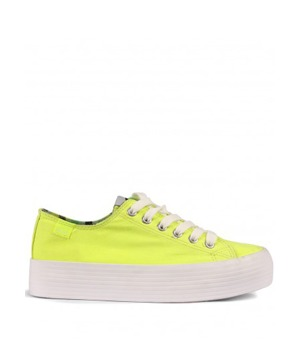b926130f13 Žluté tenisky s vysokou podrážkou MTNG 39