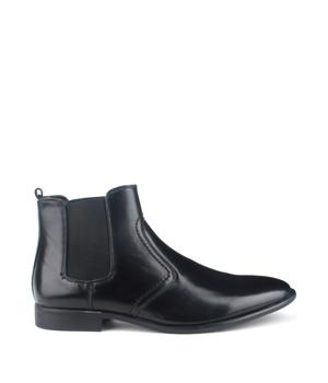 Černé pánské kotníkové boty Bottesini