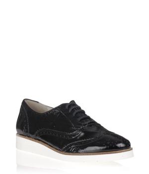 c401f38f5bc Černé kožené boty na bílé podrážce María Jaén – ON-LINE KATALOG