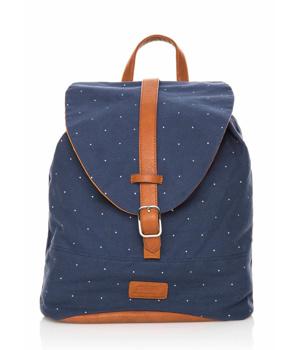 Koupit Modrý batoh s hnedými pásy MTNG