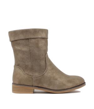 Hnědé letní kozačky H3 shoes 36