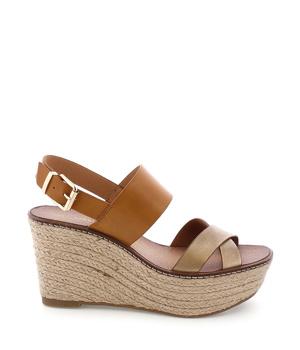 Koupit Hnědé letní sandály na platformě MARIA MARE
