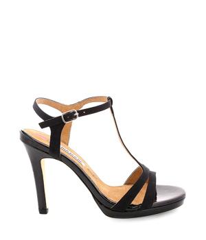 Koupit Černé páskové sandály MARIA MARE