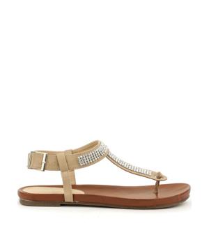 Koupit Letní sandály Claudia Ghizzani v béžové