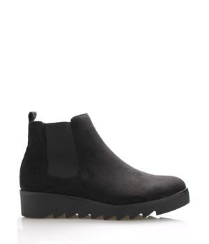 Černé kotníkové boty s elastickou částí Claudia Ghizzani 37