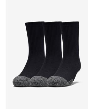Ponožky Under Armour Youth Heatgear Crew-Blk Černá