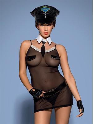 Sexy kostým Police chemise - Obsessive