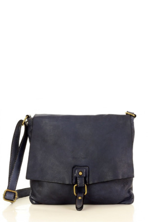 Přírodní kožená taška model 153039 Mazzini