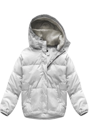 Bílá dámská oversizová bunda (7113) 2eb3939a440