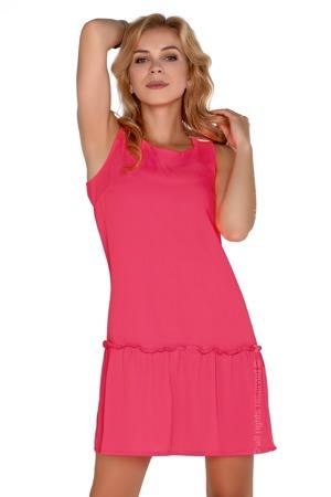 070e8a7975d Dámské šaty model P30233 neon růžová - Merribel