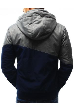 Tmavě modrá pánská přechodová bunda TL-173 tx1894 VD Fashion 3177e01312
