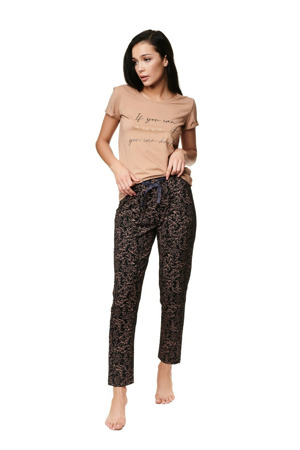 Dámské pyžamo Henderson Ladies 39217 Zaylee kr/r S-XL