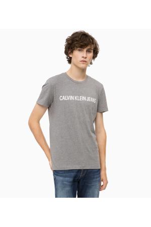 81139aed4b50 Pánské tričko OU36 šedá - Calvin Klein
