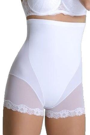 Stahovací kalhotky Violetta bílé