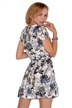 1d530e589daf Dámské šaty model P30232 šedá - Merribel