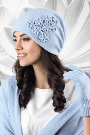 Dámská čepice model 162816 světle modrá - Kamea 82a308d207