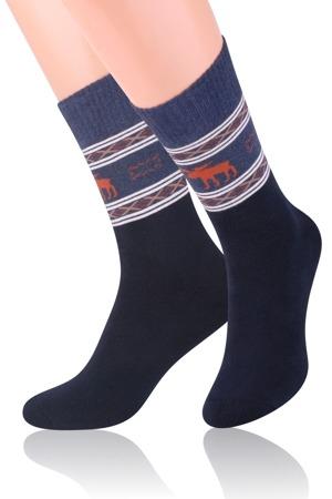 69c0dd6732e Pánské vzorované ponožky 122