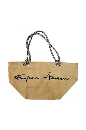 7cf352774e Plážová taška 262587 9P331 béžová - Emporio Armani