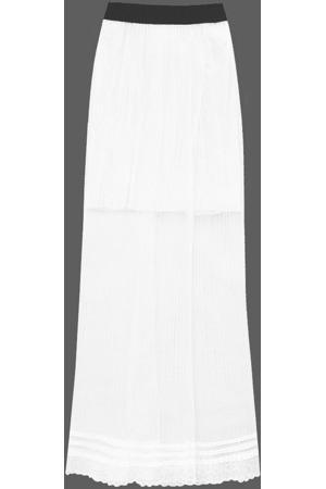 96facfda04d Prodyšná bílá plisovaná sukně 2 (98ART)