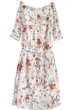 3dba18ea1f8d Bílé dámské plisované šaty ve španělském stylu (350ART)