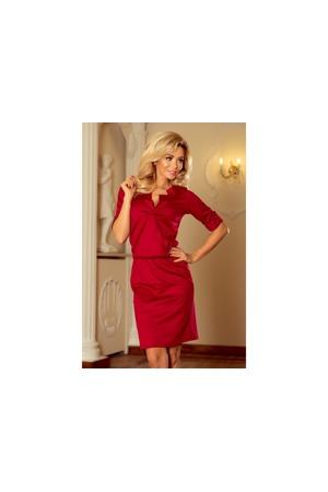 dcda53abdae5 Dámské šaty s límečkem 161-9 - Numoco. 1 058 Kč